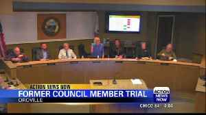 Former Oroville City Council Member expected to stand trial on petty theft charges [Video]