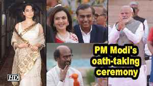 Film, business celebs at Modi's oath-taking ceremony [Video]