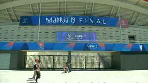Madrid gears up for all-English Champions League Final [Video]