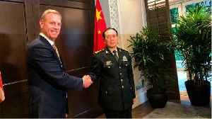 Defense Chiefs From China & U.S. Hold Talks At Asia Security Summit In Singapore [Video]