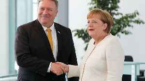 Merkel meets Pompeo in Berlin for talks on host of issues including Iran [Video]