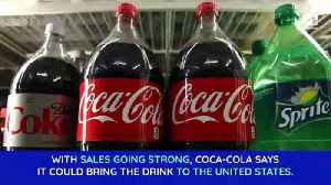 Coca-Cola Looking to Bring Coffee-Infused Drink to the US [Video]