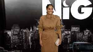 "Tracee Ellis Ross ""Late Night"" Los Angeles Premiere Red Carpet [Video]"