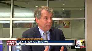 Sen. Sherrod Brown talks to WCPO about tornado damage, federal aid [Video]