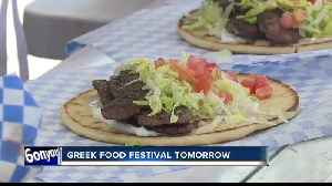 38th annual Greek Food Festival preview [Video]