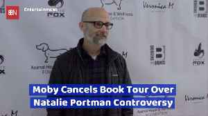 Moby's Drama With Natalie Portman Ends With A Canceled Book Tour [Video]