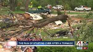 Past tornado victims give advice on how to move forward [Video]