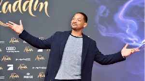 Will Smith Thanks Aladdin Fans [Video]