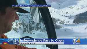 Crews Hope To Have Independence Pass Open On Friday [Video]