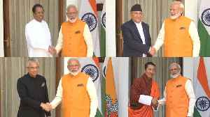 Day after swearing-in, PM Modi's marathon meetings with foreign dignitaries [Video]