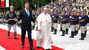 Pope Francis arrives in Bucharest for three-day visit to Orthodox Romania [Video]