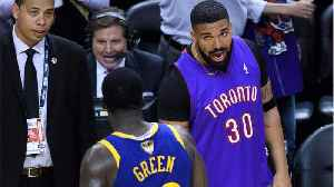 Drake Covers Curry And Durant's Numbers [Video]