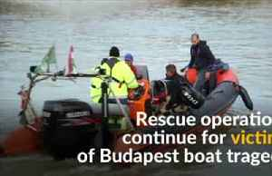Search operations continue after Budapest disaster [Video]