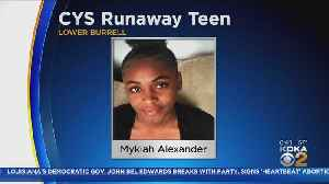 Lower Burrell Police Searching For Teen Who Ran Away From CYS Custody [Video]