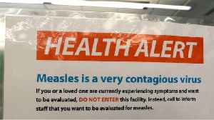Measles Epidemic Grows [Video]