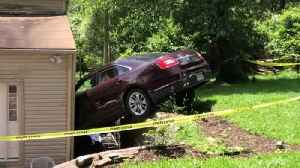 Web Extra: Car Slams Into House In Spring Hill [Video]