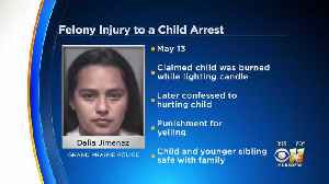 Grand Prairie Stepmom Charged With Setting Child On Fire [Video]
