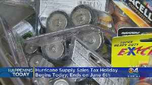 It's Time To Save On Hurricane Preparedness Supplies [Video]