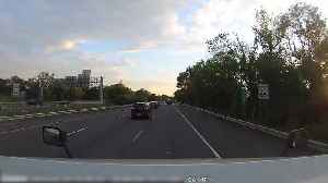 Reckless Exit Nearly Causes Wreck [Video]