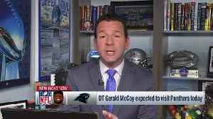 Ian Rapoport: Panthers are making 'full push' to sign free-agent defensive tackle Gerald McCoy on his 'official visit' [Video]