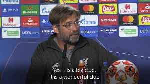 Jurgen Klopp buoyant ahead of Champions League final [Video]