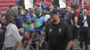 Liverpool players train ahead of Champions League final [Video]
