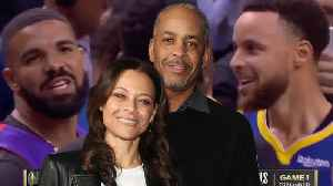 Sonya Curry Reacts To Drake's TROLLING By Wearing Dell Curry's Throwback Raptors Jersey [Video]