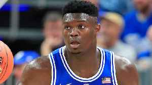 Zion Williamson Shoe Deal Almost Done As He Shows Up Practicing In New Sneaks [Video]