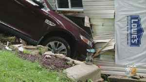 Car Slams Into Side Of House In Spring Hill [Video]