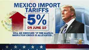 President trump Hits Mexico With New Tariff [Video]