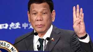 Philippines' Duterte: I Cured Myself Of Being Gay [Video]