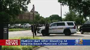 Multiple People Hurt In Virginia Beach Shooting [Video]