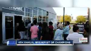 4th Annual Breakfast of Champions is this weekend [Video]