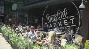 Time Out Market Opens In Brooklyn [Video]