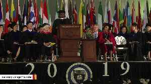 Anita Hill During Commencement Address: 'Sexual Misconduct Deniers Have Friends In High Places' [Video]
