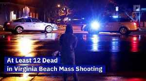 At Least 12 Dead in Virginia Beach Mass Shooting [Video]