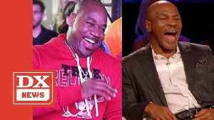 Mike Tyson & Wack 100 Faked Fight Over Tupac Diss To Promote Hotboxin' With Mike Tyson Podcast [Video]