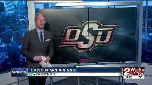 Oklahoma, Oklahoma State square off in first ever Women's College World Series Bedlam; Oklahoma State Baseball shuts out Harvard [Video]