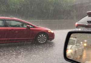 Hail Pounds Raleigh Drivers Amid Thunderstorms in North Carolina [Video]