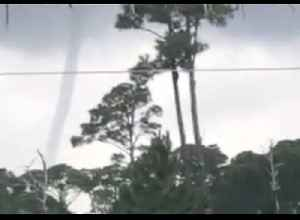 Waterspout Forms Off Florida's Perdido Bay [Video]