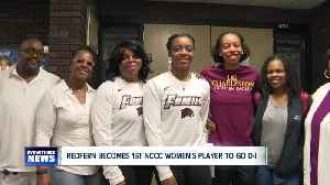 Redfern signs to play DI basketball with Maryland Eastern Shore [Video]