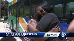 Mother thanks bus driver for saving son [Video]