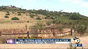 Los Penasquitos Canyon reopens after mountain lion attack [Video]