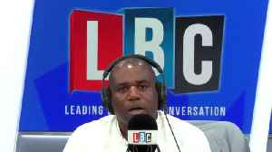 David Lammy's Response To Caller Who Asked Why He Won't Quit Labour [Video]