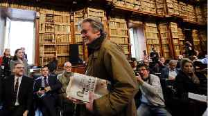 News video: Italy Revokes Lease For Site of Bannon's Right-Wing Academy