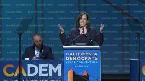 State Democratic Convention Speech: Sen. Kamala Harris [Video]