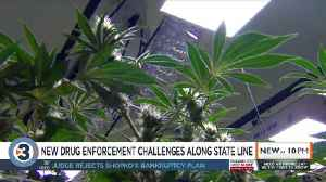 What Illinois' legalization of recreational marijuana could mean for the state line [Video]