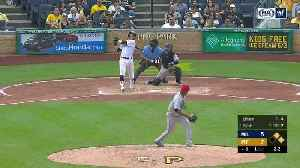 Brewers take wild extra-inning game in Pittsburgh [Video]