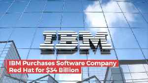IBM Spends 34 Billion On New Acquisition [Video]