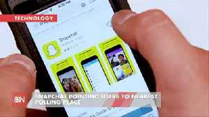 News video: Snap Chat Gets Voters Where They Need To Go